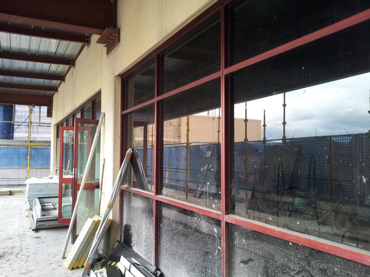 QIMR - Balcony under construction