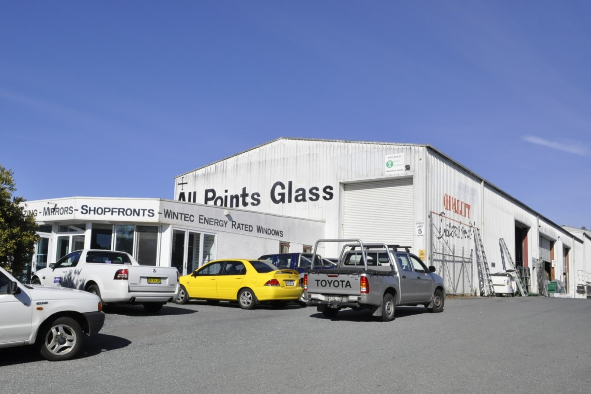 Allpoints Glass Email