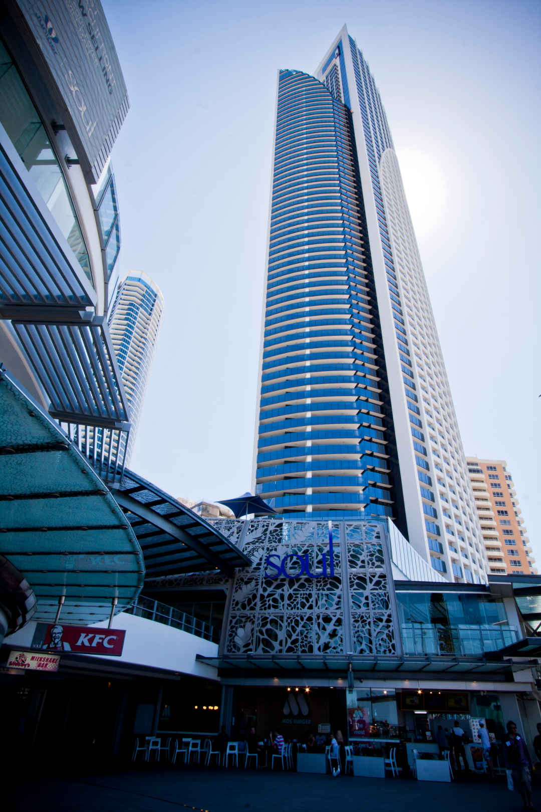 Soul Tower, Surfers Paradise   Balustrades, Sliding Doors And Fixed Windows