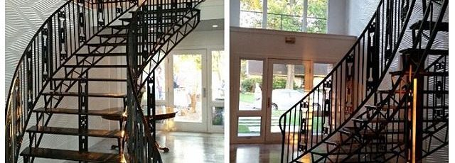 Come-on-in.-Partys-out-back-entryway-makeanentrance-jetsonia-midcenturymodern-midcenturydesign-midce