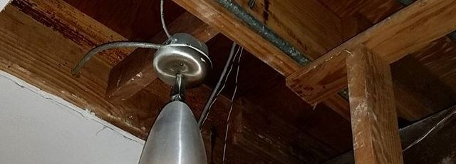 Replacing-cast-iron-pipes-when-theres-no-attic-but-I-got-original-lights-flatrooflife-midcenturymode