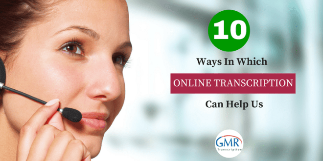Online Transcription Services