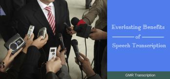 Everlasting benefits of Speech Transcription