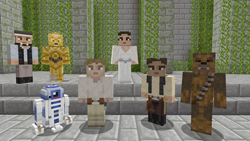 Exclusive Star Wars DLC Skin Pack for Minecraft Xbox