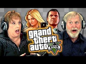 Watch – The Elderly Playing GTA V