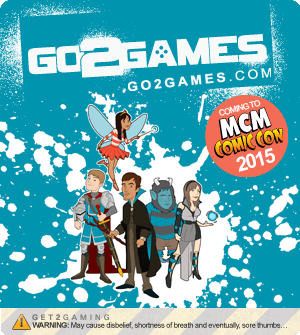 Go2Games' Brand Spanking New Officially Licensed Merchandise!