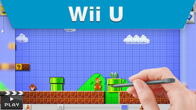 Arriving in September for Wii U – It's Mario Maker!