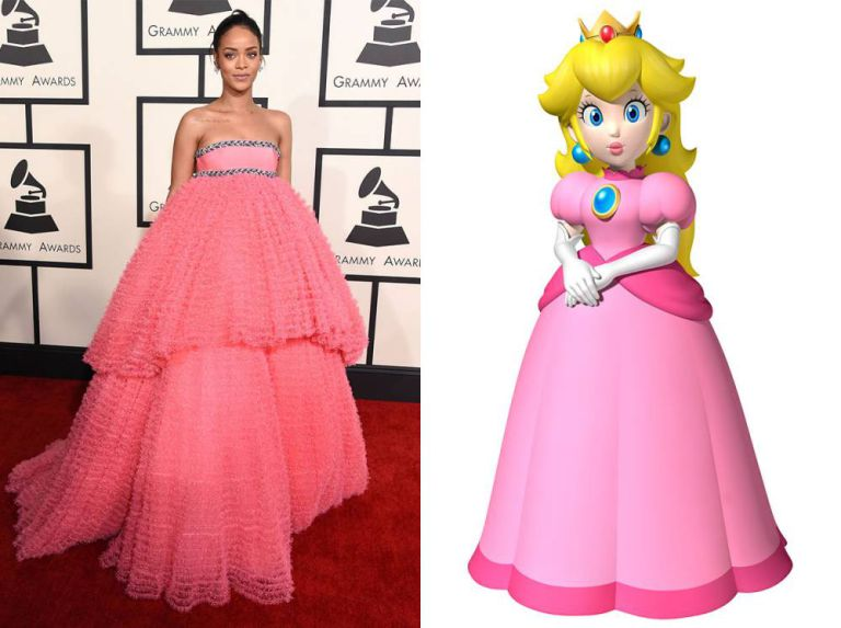 Rhianna Princess Peach