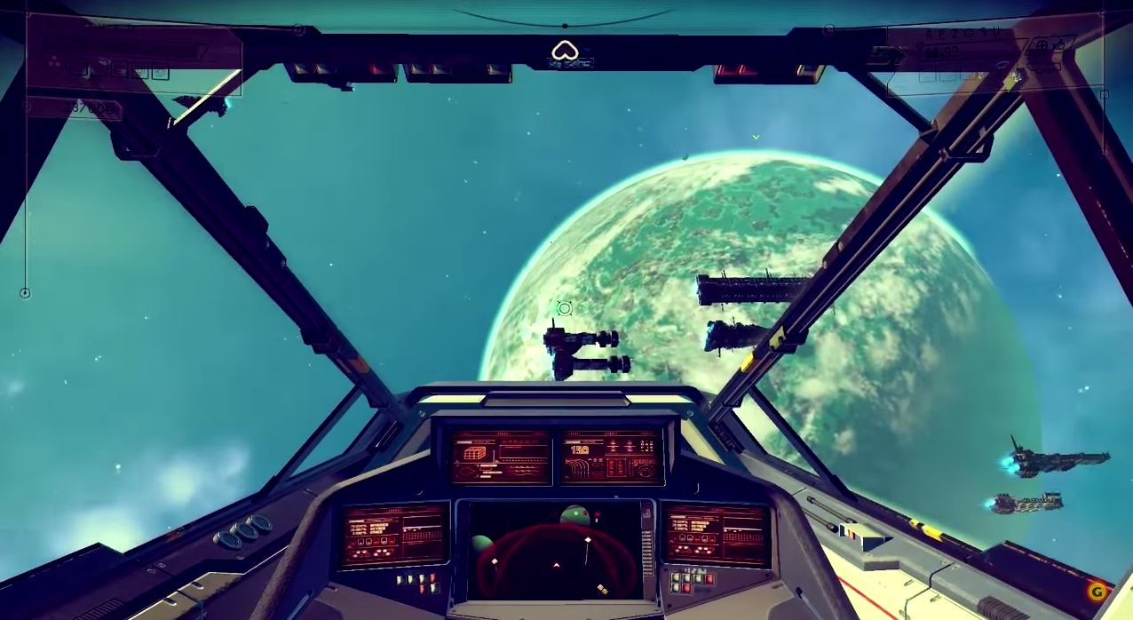 No Man's Sky's 18 Quintillion Planets Only take up Just 6 GB on Disc.