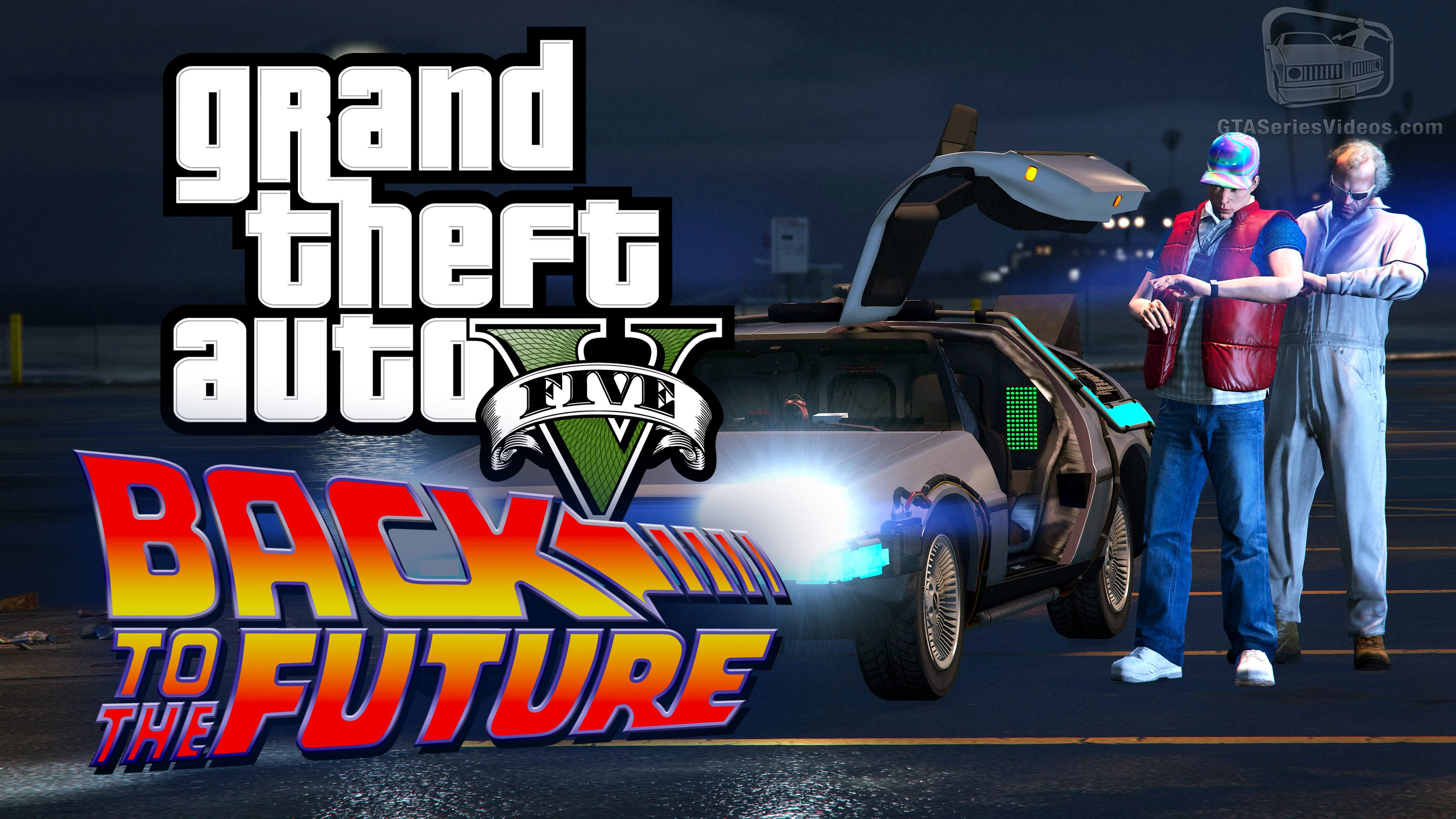GTA V Back to The Future mod is AWESOME