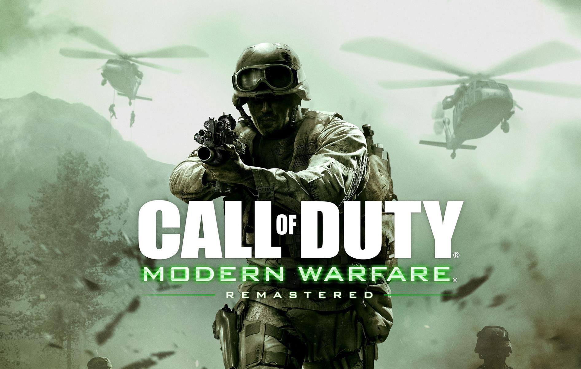 Modern Warfare Remastered Looks Incredible