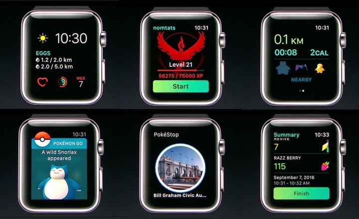 Pokémon Go Coming to Apple Watch