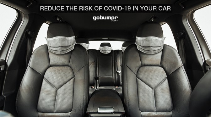 Reduce the risk of COVID-19 in your car