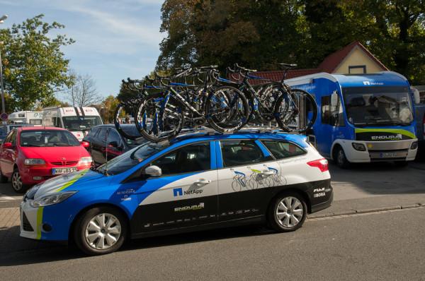 muensterland giro 2013 team netapp-endura teamauto teambus