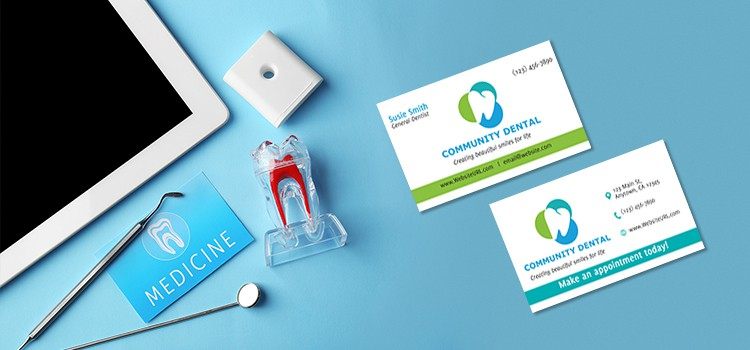 Dentist Business Card Design Inspirations \u2013 GotPrint Blog