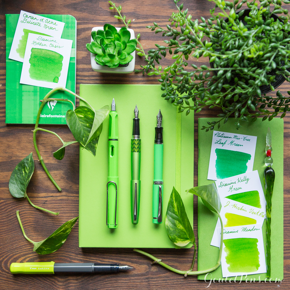 Greenery Pantone Thursday Things Pantone Color Of The Year 2017 Goulet Pens Blog