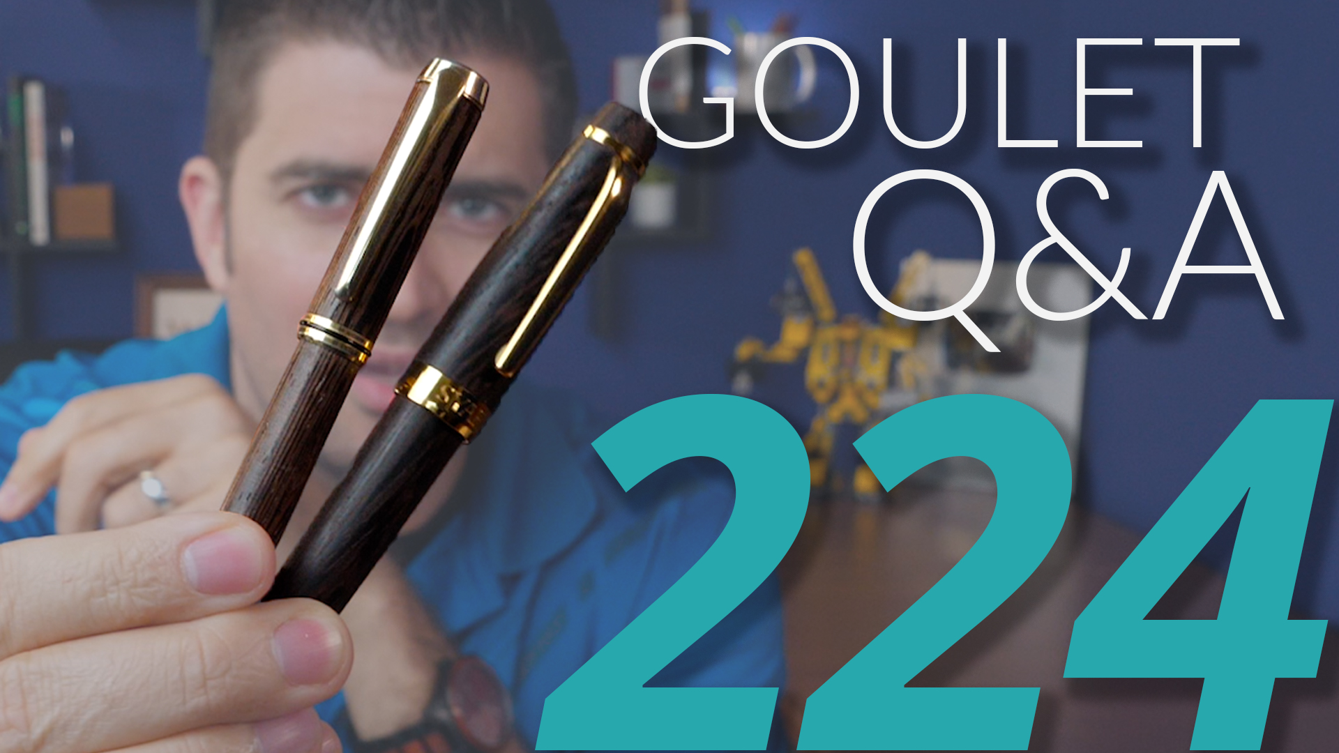 Calligraphy Pens B&m Goulet Q A Episode 224 How Special Editions Happen And Brian S