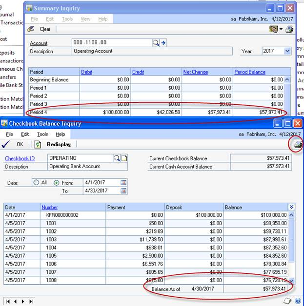 Balancing Bank Reconciliation and General Ledger