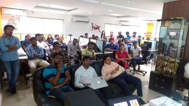 Gramener Hyderabad team at Boot Camp Nov 2016
