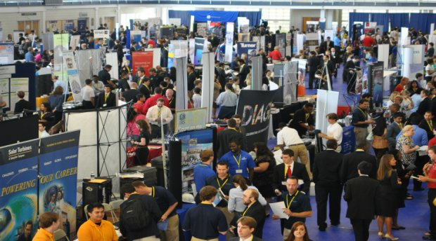 How to Stand Out at a Career Fair Granted Blog