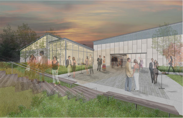 BIMx and the Walnut Hill School for the Arts Renovation Project by designLAB