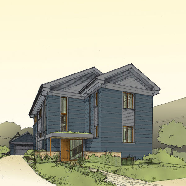 River Forest Passive House Designed in ArchiCAD Wins US Green Building Council Award