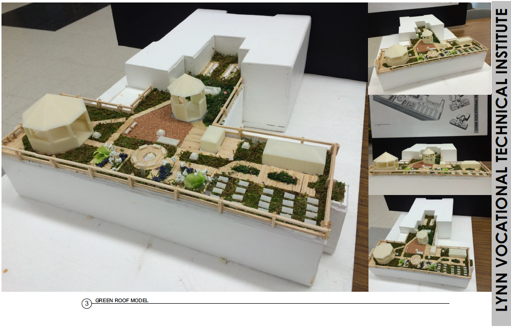 Students Learn ARCHICAD, Design Green Roof