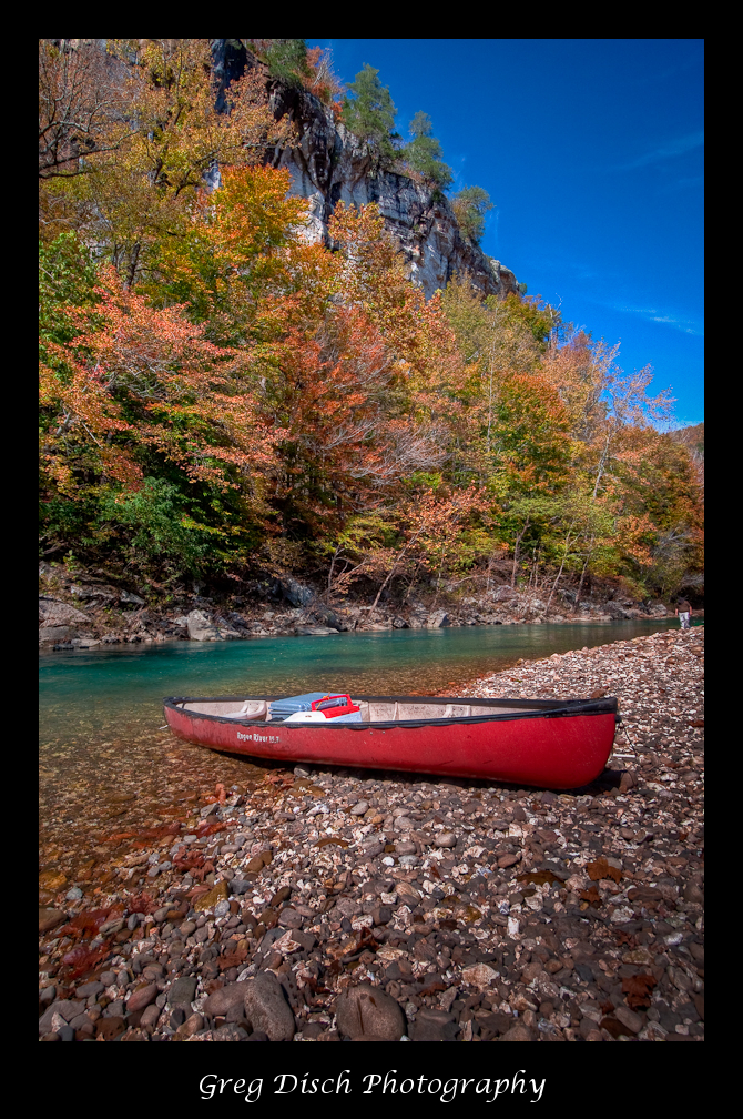 Desktop Wallpaper Fall Foliage Fall Canoe Trip On The Buffalo National River Greg Disch