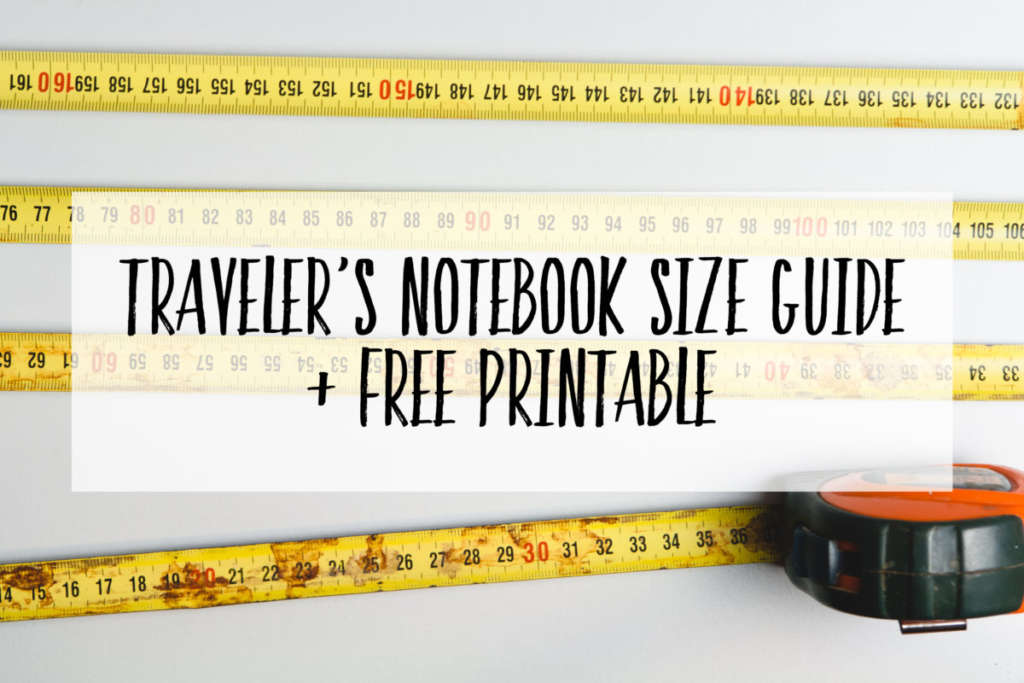 photo about Free Printable Traveler's Notebook Inserts known as Specialist towards Vacationers Laptop Increase Dimensions (and a absolutely free