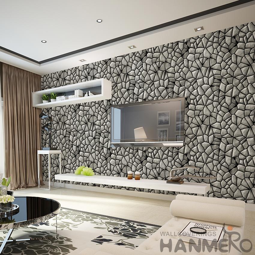 3d Wallpaper Designs For Living Room Newest Decorative 3d 1 06m Stone Design Wallpaper For Home