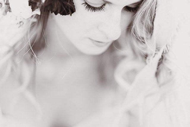 mariée bohème headband raisin