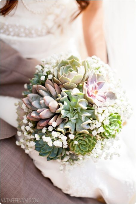 mariage bouquet de succulente et gypsophile happy chantilly. Black Bedroom Furniture Sets. Home Design Ideas