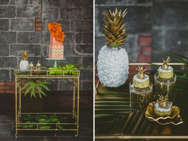 Mariage: des ananas dans la décoration - Happy Chantilly