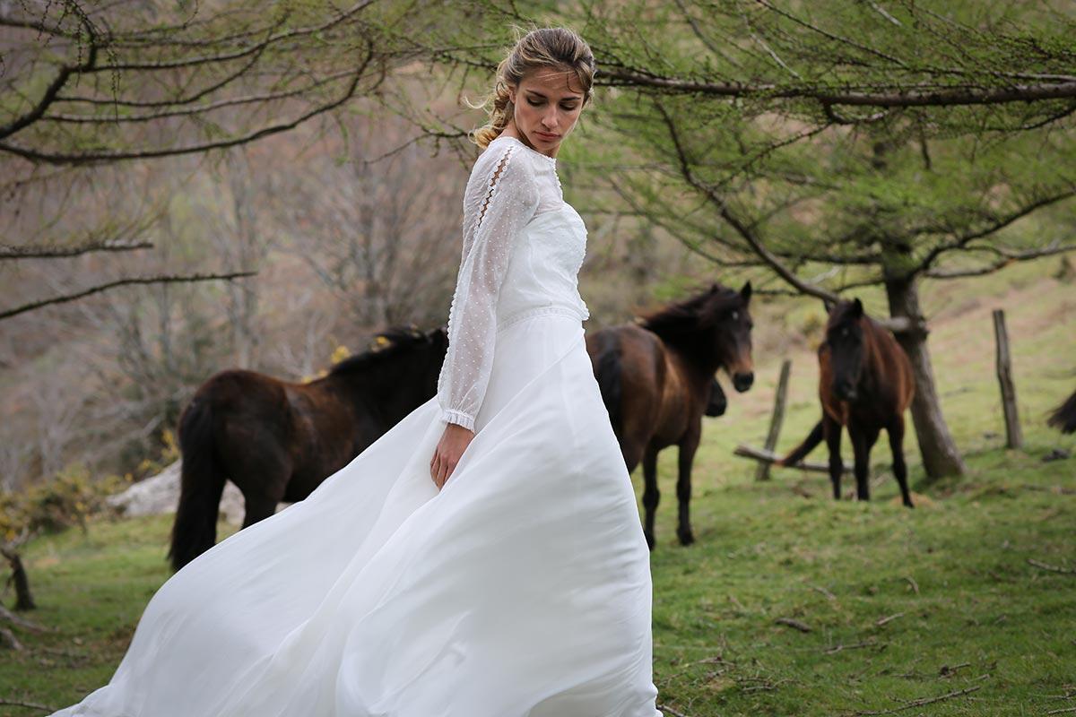 Robes de mariée Marie Laporte 2017 - Happy Chantilly