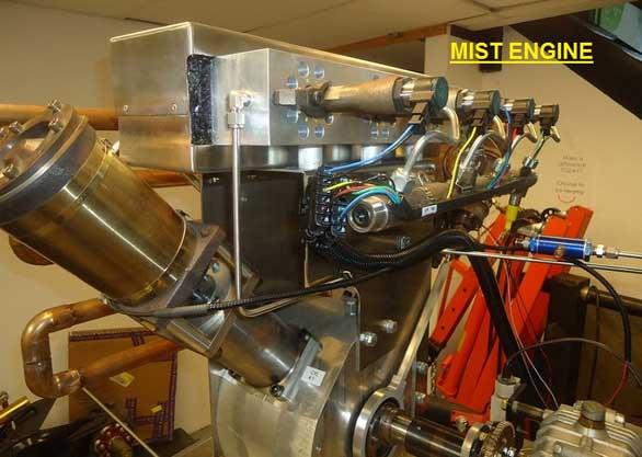 High Pressure Water Steam System Releases Hydrogen Bonds