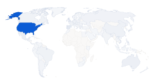 Map of all visitors to hathix.com