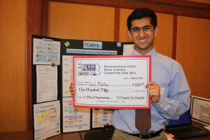 Neel Mehta's Cabra Flashcard Program Wins at PA Computer Fair
