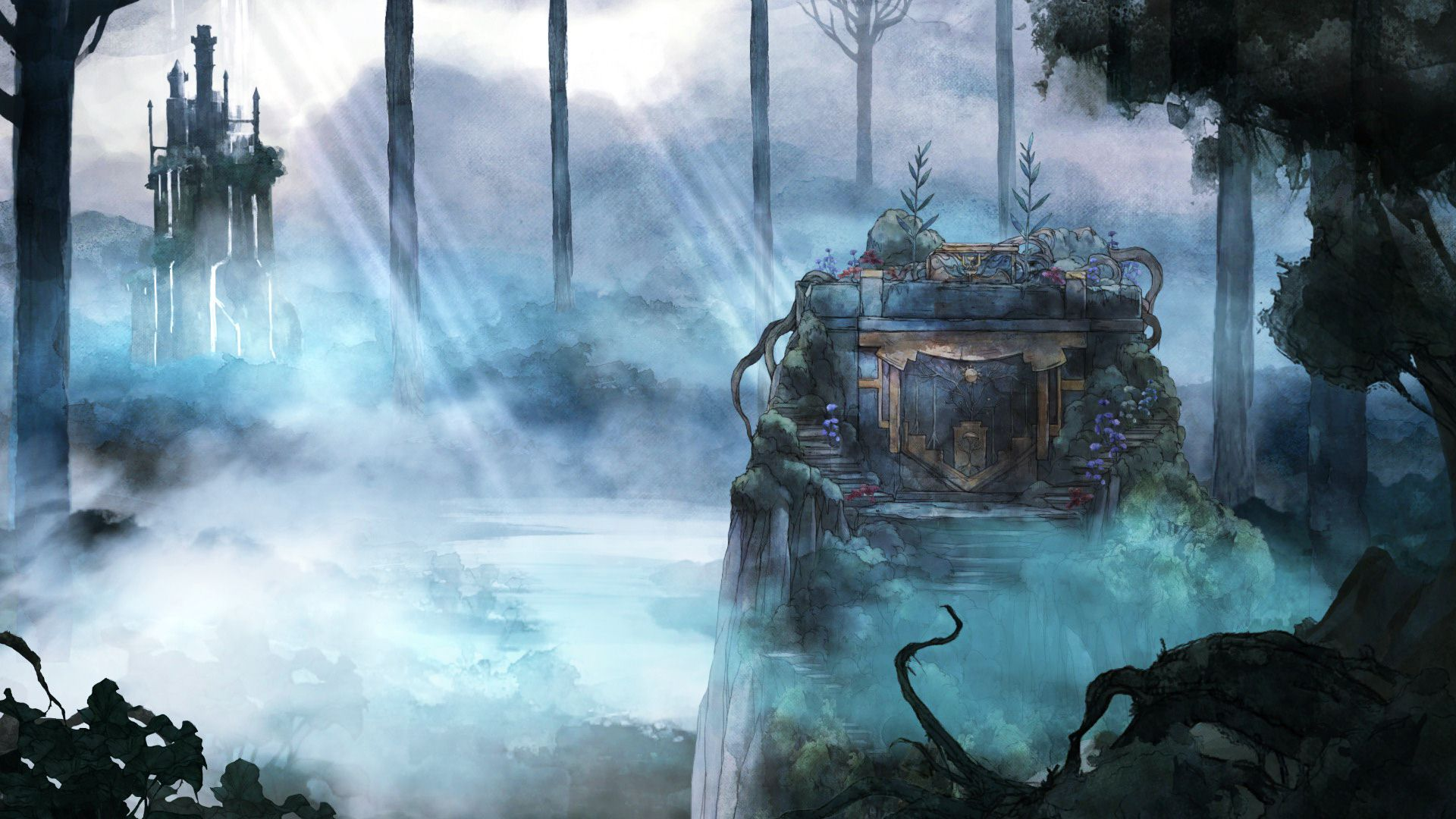 Hd Game Wallpaper 1920x1080 Child Of Light Wallpapers Archives Hdwallsource Com