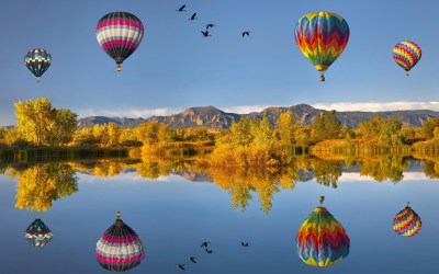 21 Wonderful HD Hot Air Balloon Wallpapers