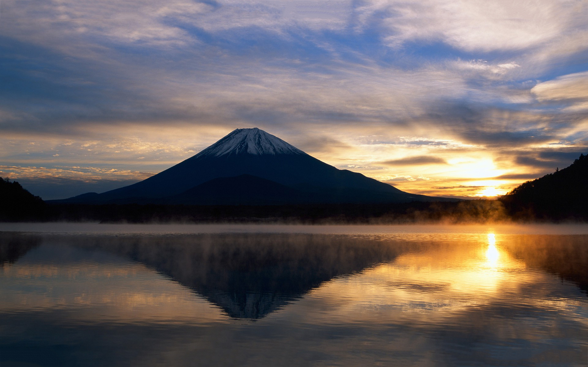 3d Cherry Blossom Wallpaper 15 Hd Mount Fuji Japan Wallpapers Hdwallsource Com