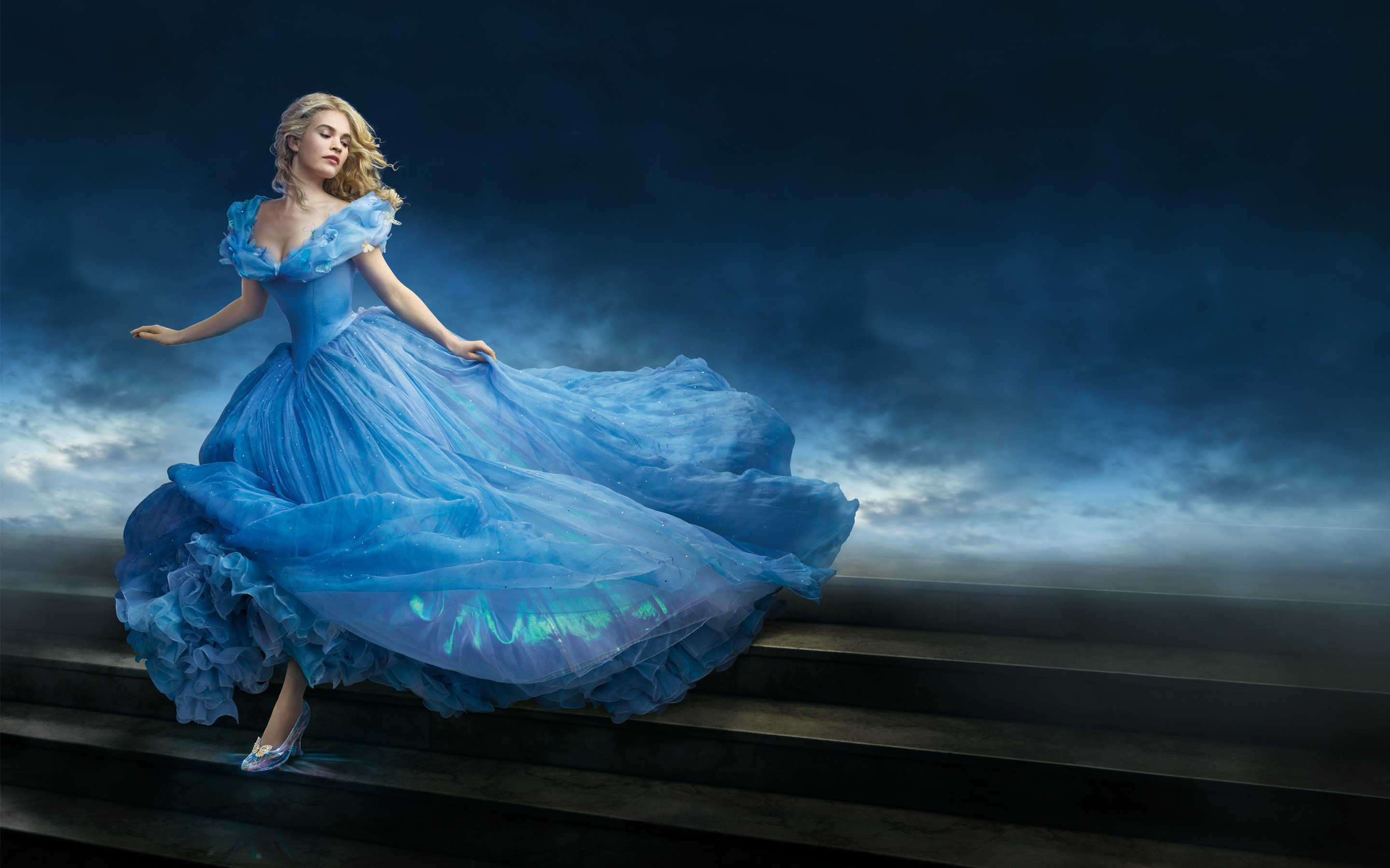 Little Princess Girl Wallpaper 14 Hd Cinderella Movie Wallpapers