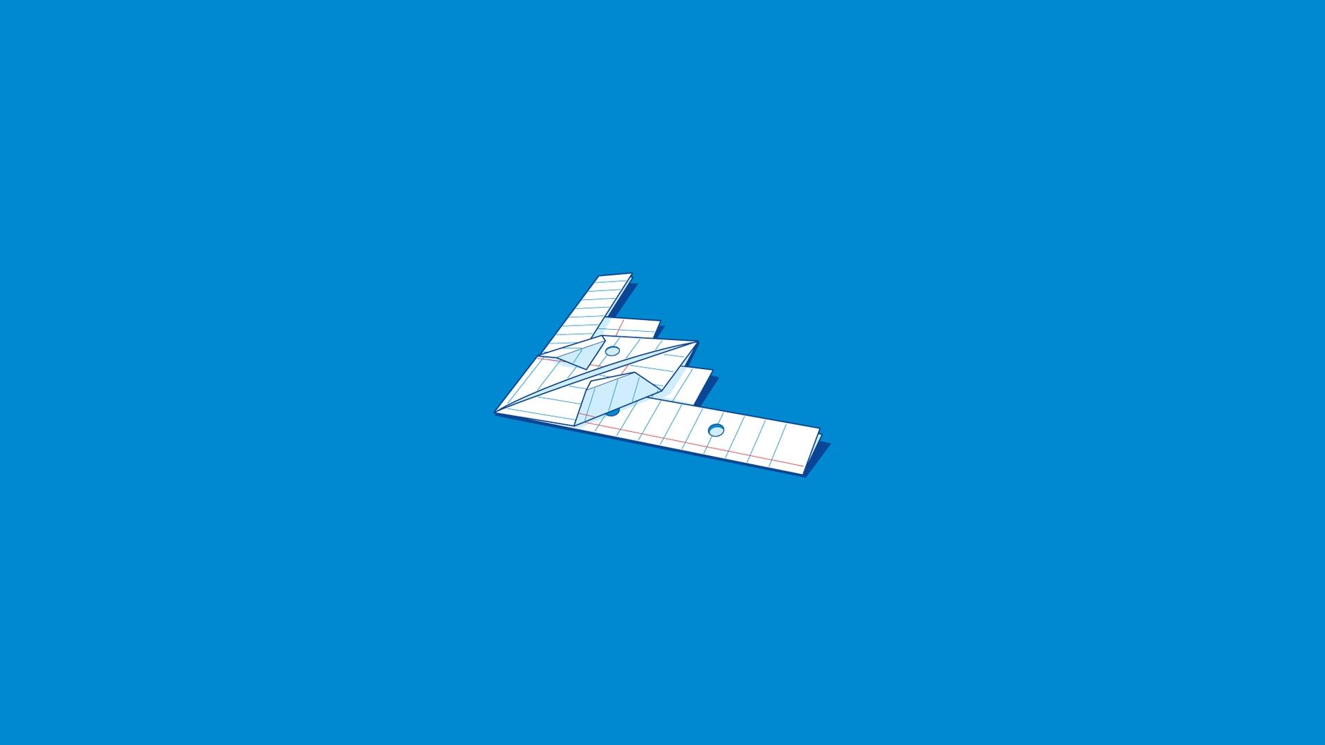 Wallpaper Iphone Pastel 5 Fantastic Hd Paper Airplane Wallpapers