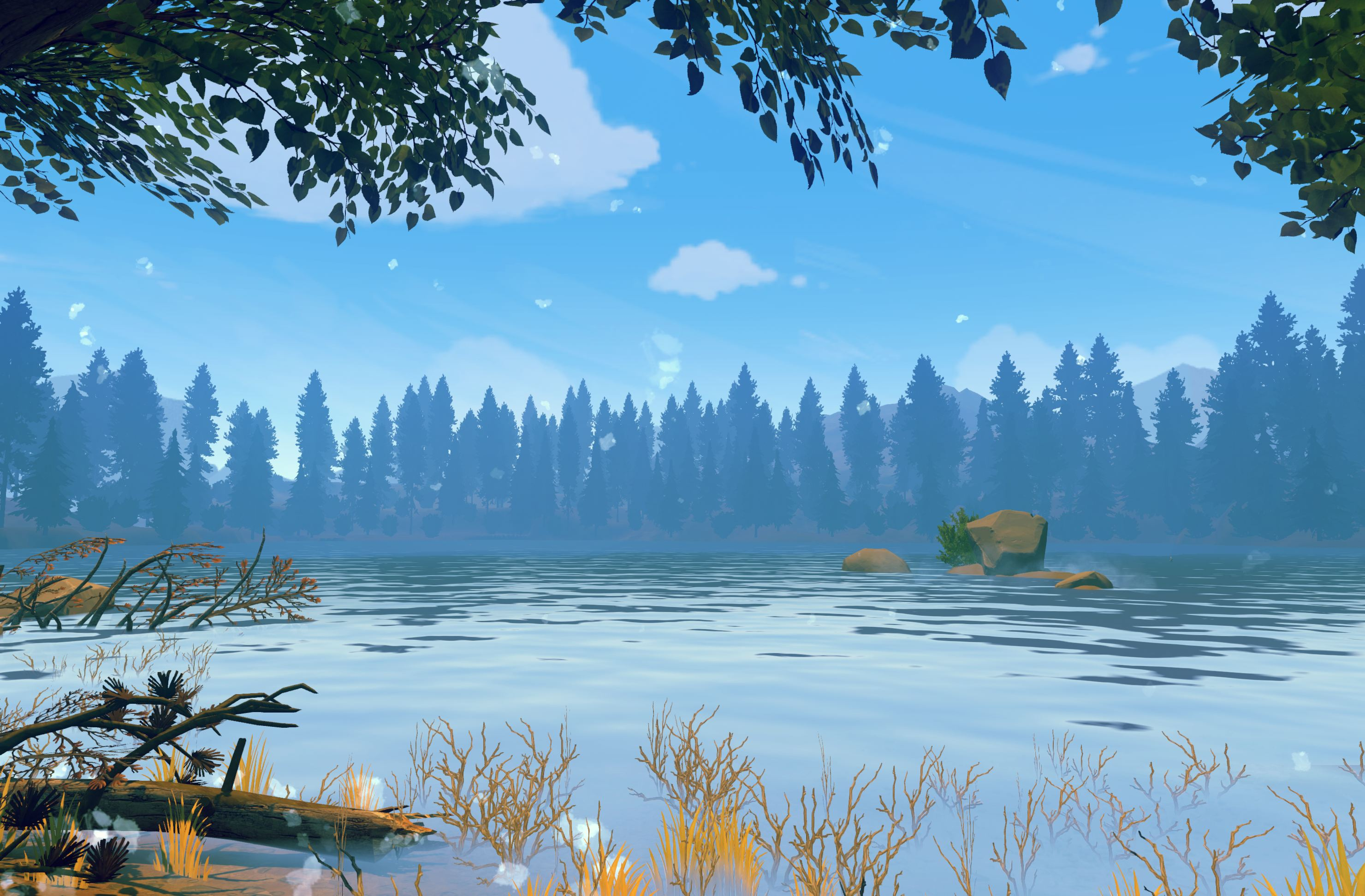 How To Set Animated Wallpaper 23 Hd Firewatch Game Wallpapers