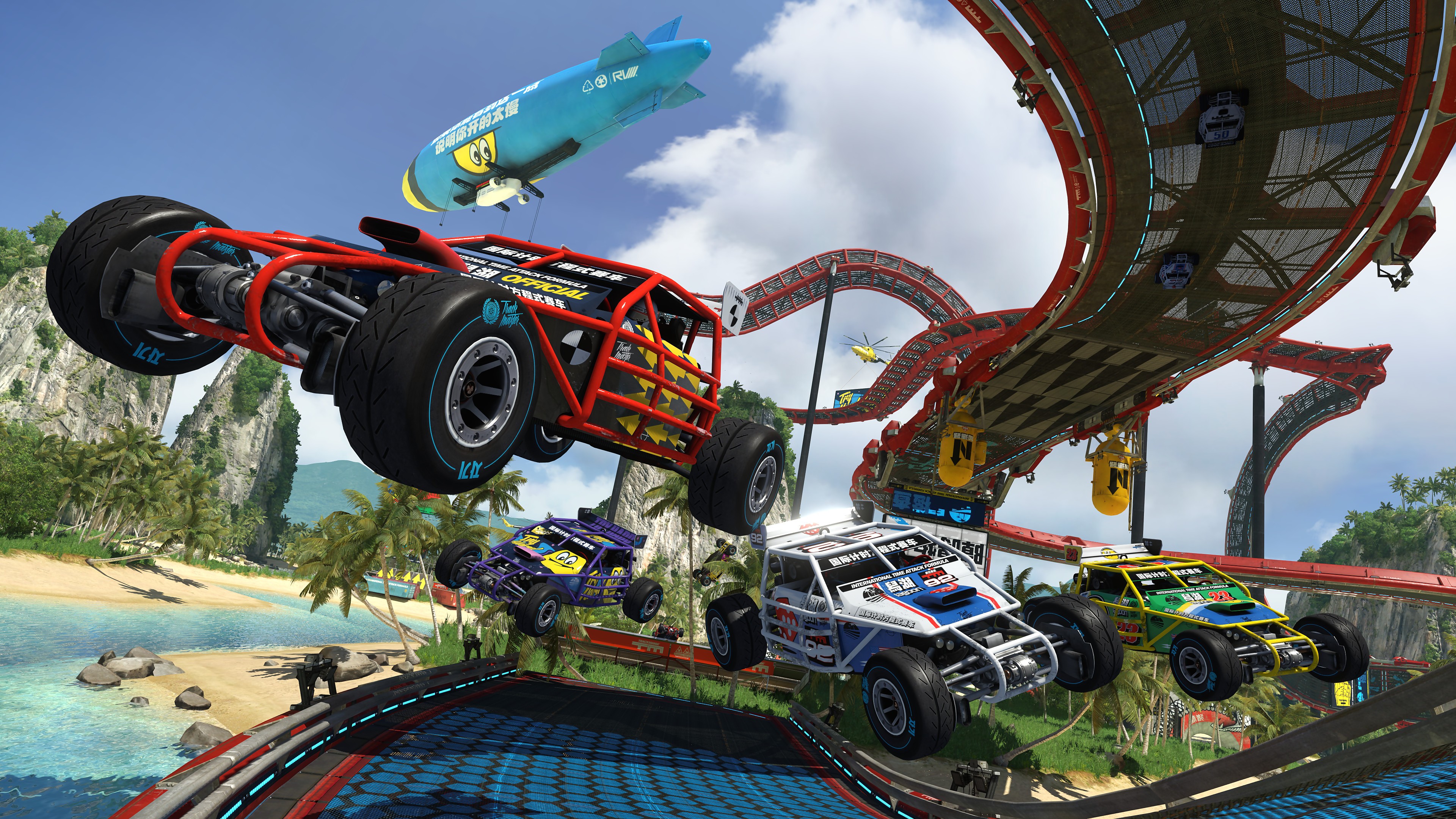Car Stunt Wallpaper 14 Hd Trackmania Turbo Game Wallpapers