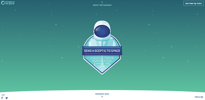 Send a Skeptic to Space