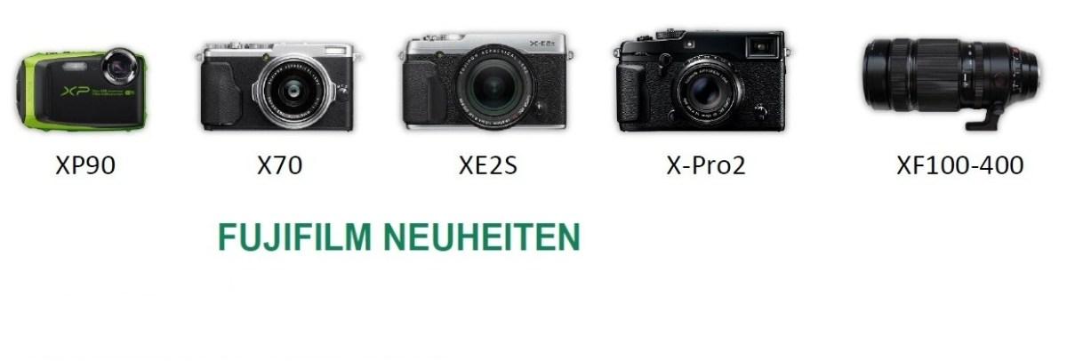 Fuji X-Neuheiten auf der 55.Münchner Fotobörse