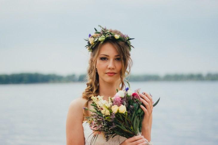 Geflochtene Brautfrisuren - perfekt für Vintage- und Boho-Hochzeiten