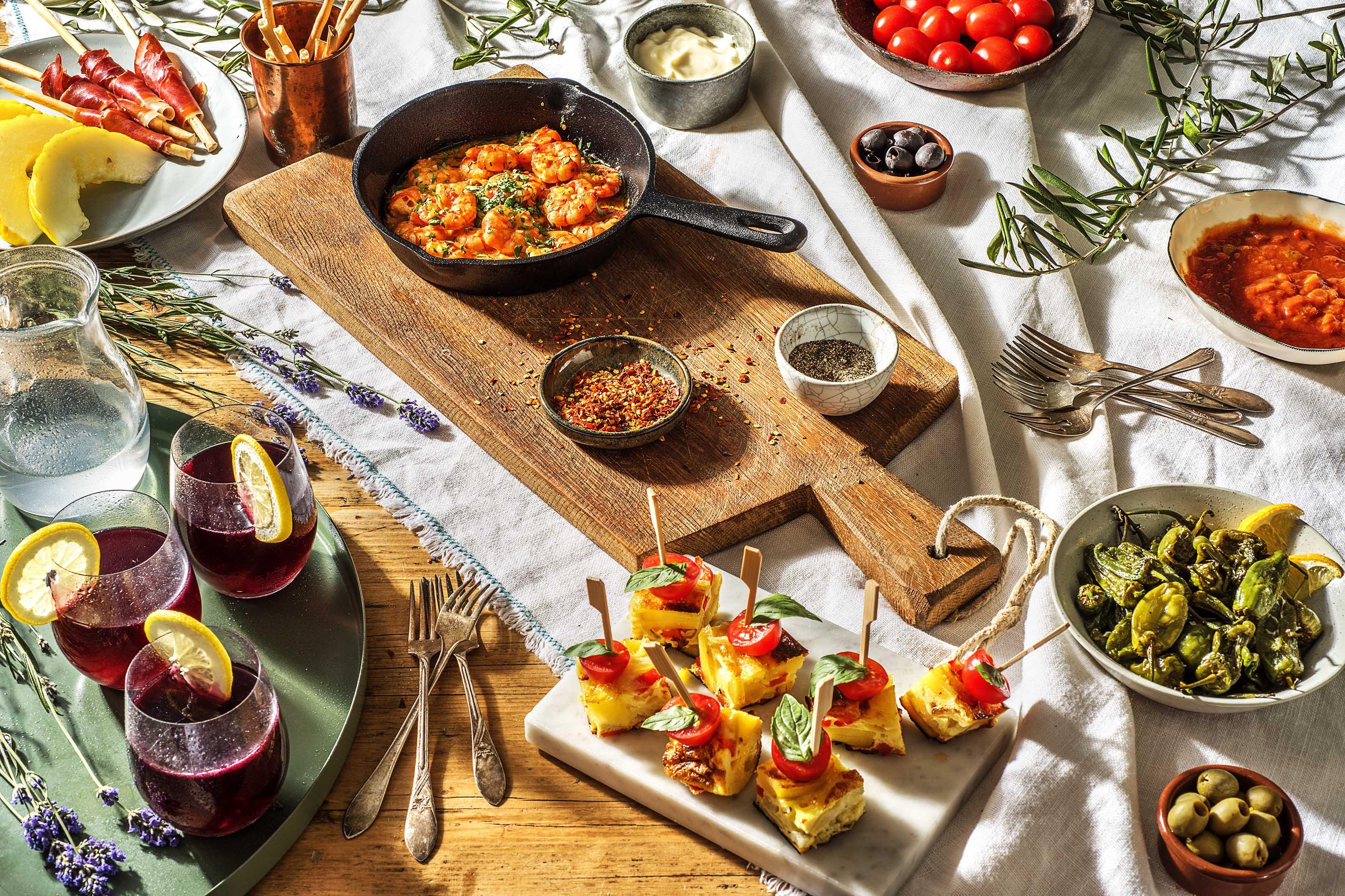 Spanische Küche Rezepte Tapas   Spanisches Fingerfood Essen Und Trinken