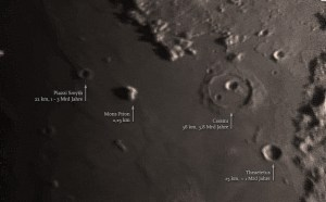Ein interessant aussender Krater