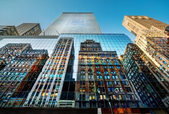 Inception Reflection, Trey Ratcliff, Photography, NYC, Big Apple
